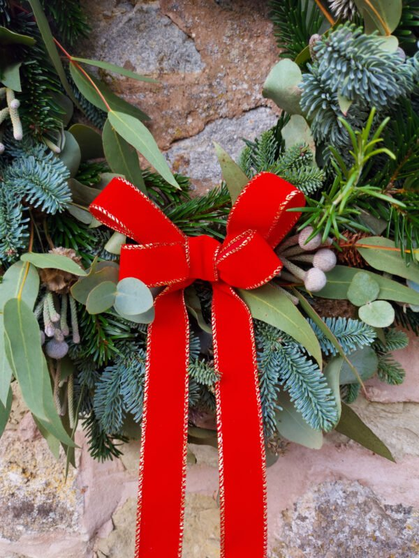 Red and Gold Ribbon